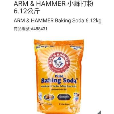 ⭐宅配免運!ARM&HAMMER鐵鎚牌 食用級小蘇打粉 6.12公斤/包-吉兒好市多COSTCO線上代購