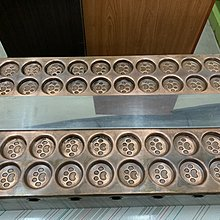 ✪樂芙二手貨✪ 紅銅造型紅豆餅機 二手紅豆餅爐具 48孔紅豆餅機
