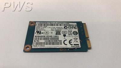 ☆【SanDISK SDSA5DK-024G mSATA SSD 24G 固態硬碟 SSD 24GB 】☆