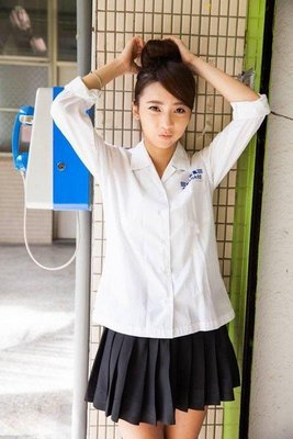 [全新代購]台北 中山女高 女生冬季制服長袖上衣