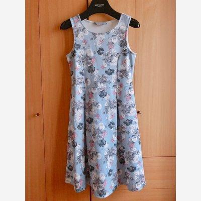 Dorothy Perkins floral dress onepiece 英國品牌靚粉藍碎花連身裙 優雅 襯衫