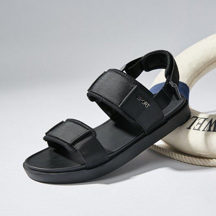【嚴選】沙灘鞋2018男士新款運動涼鞋男夏季韓版防滑羅馬鞋潮流休閒沙灘鞋運動
