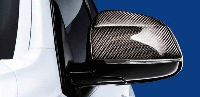 【樂駒】BMW 原廠 F26 X4 M-Performance 碳纖維 carbon 後照境蓋 外觀 空力 套件