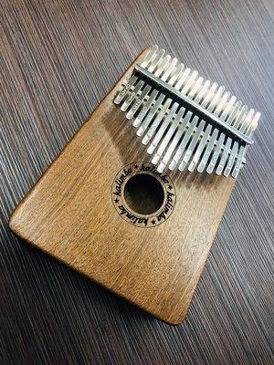 【老羊樂器店】 現貨 姆指琴 沙比利 17音 卡林巴琴 Kalimba 拇指琴