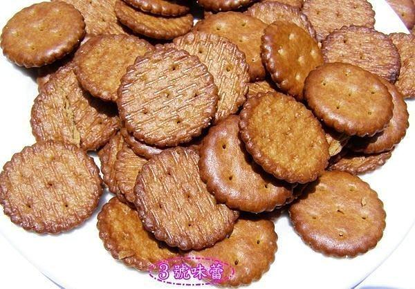 3號味蕾 量販團購~素食園黑糖小鹹餅3000g(純素)....另有飛機餅、數字餅...小奇福