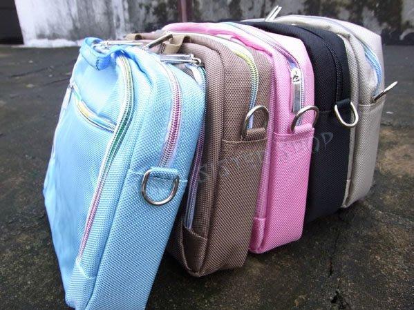 *蝶飛*粉紅現貨可選平板電腦包7吋 9吋10.1吋通用手提包 挎包 有背帶可挎 小筆電包 避震袋