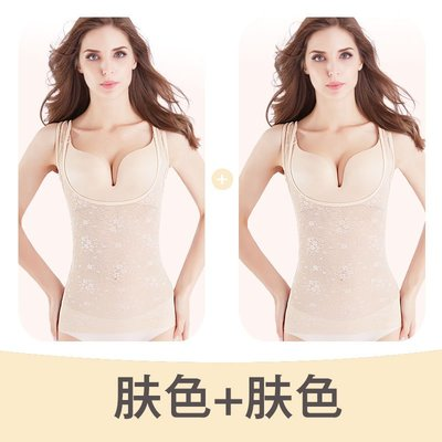 【擁有好身材】 美人計瘦身衣塑身衣女收腹薄款抽脂連體全身夏季塑身衣超薄男