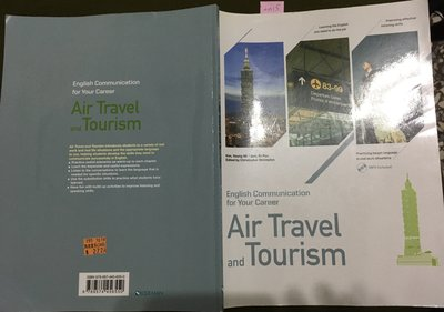 Air Travel and Tourism 1 CD》2015-Young-Mi-9789574456550_9 成新