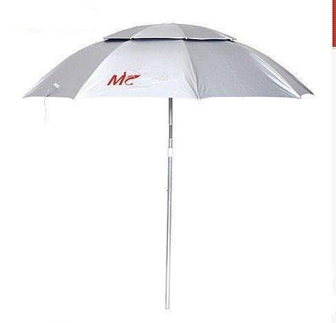 【格倫雅】^佳釣尼2米雙層開口釣魚傘 遮陽防紫外線 防雨 萬向轉環漁具釣傘今466[D