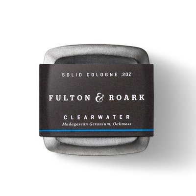 美國 Fulton & Roark - 頂級固態古龍水(生命之泉 / Clearwater)香膏 固態香水 體香膏