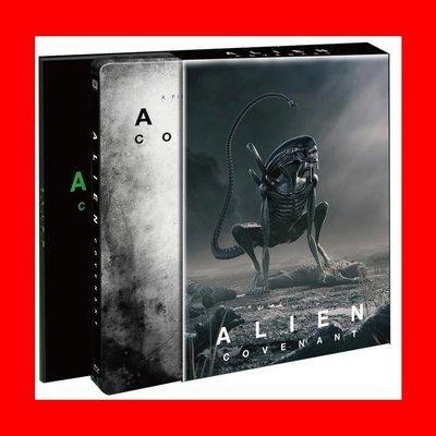 【4K UHD】異形:聖約 4K UHD 幻彩盒限量鐵盒版(中文字幕) Alien : Covenant