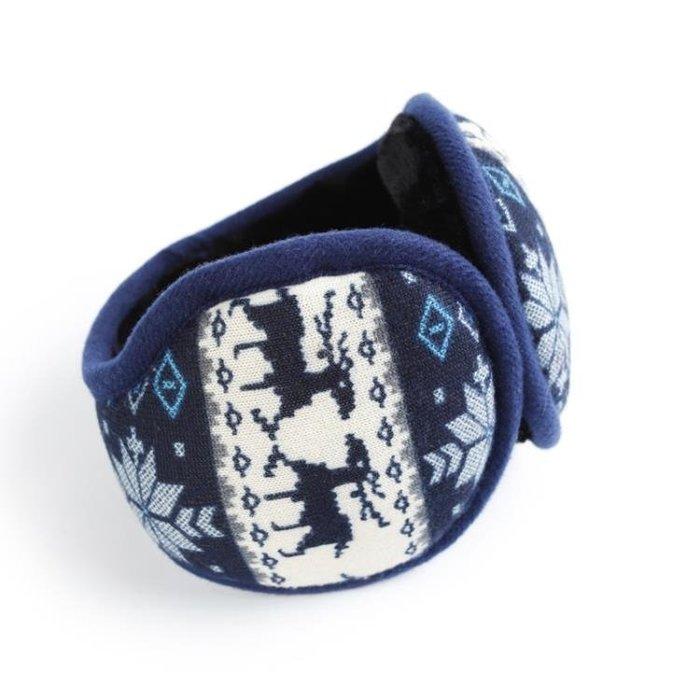 冬季保暖耳套騎車耳捂男士防風折疊後戴式耳包韓版潮耳罩3CGS4413