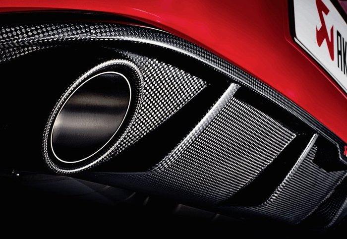 【樂駒】Akrapovic 蠍子 碳纖維 carbon 後下巴 VW Golf 7 GTI 空力 改裝 套件 輕量化