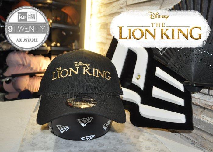 New Era x the Lion King 9Twenty Black Dadhat 迪士尼電影獅子王黑色老帽