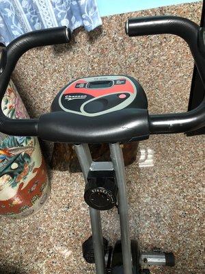 二手 Chanson 強生時尚磁控健身車(CS-1070X)/室內腳踏車