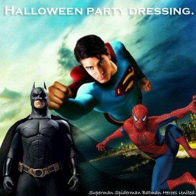 八號倉庫【1T114B11284】角色扮演-萬聖節.聖誕節.派對變裝服/蜘蛛人/超人/蝙蝠俠(大人版)