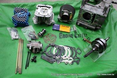 魅力MANY/VJR110/100=LKC/LEA改620條拉偏心曲軸+69~72缸+加大汽門缸頭=216~252cc