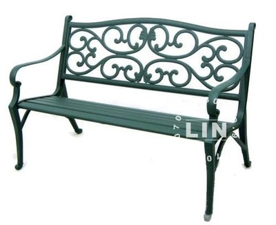【品特優家具倉儲】◎475-08休閒椅公園椅鋁合金公園椅A34L67V