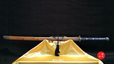客製花紋鋼款  苗刀 蝙蝠苗刀 全長146公分 刃長100 柄長40CM 花紋鋼款 未開封 龍筑刀劍