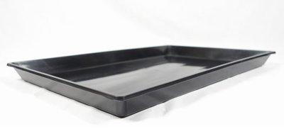 【優比寵物】2.5尺(2尺半)摺疊籠/折疊籠專用(黑色)塑膠底盤/便盆/尿盤/屎盤/便溺盤/便盤-優惠價--