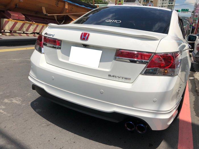 DJD19080115 HONDA 本田 Accord K13 排氣管 鈦尾管 尾段 白鐵 依當月/版本報價為準