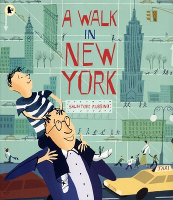 *小貝比的家*A WALK IN NEW YORK/平裝/世界文化/3-6歲/國際教育