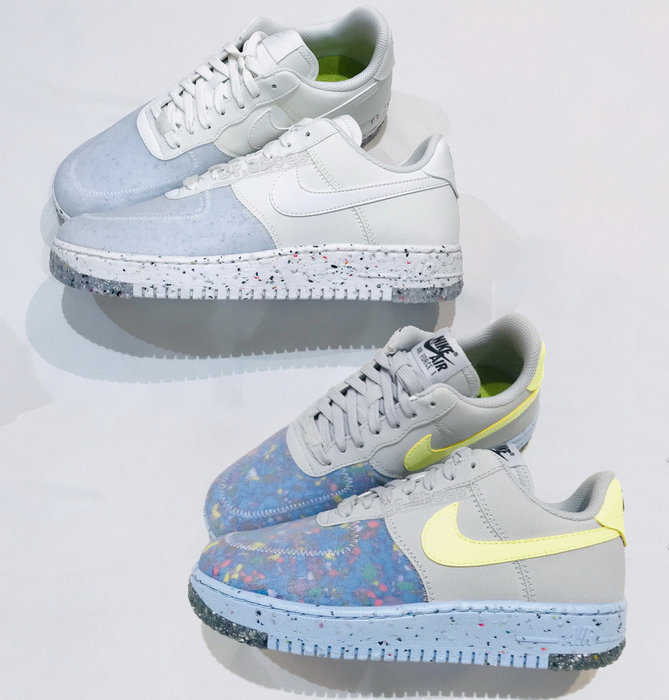【Dr.Shoes 】Nike Air Force 1 Crater 男鞋 環保 休閒鞋 CZ1524-001 100
