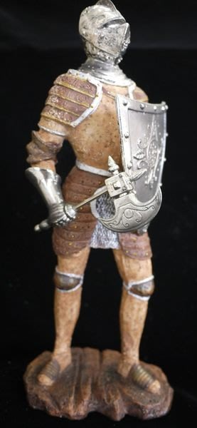 【布拉格歐風傢俱】 鐵甲武士 鐵甲盾牌斧頭戰士 家飾 玩具 飾品