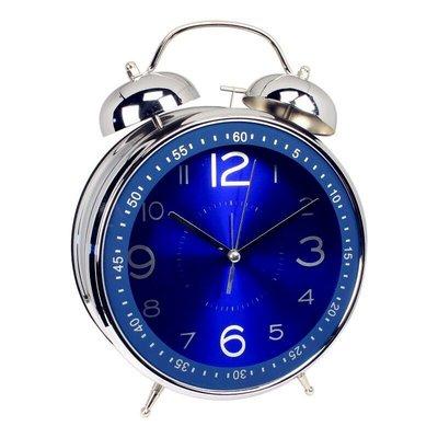 hello小店-大號打鈴貪睡金屬鬧鐘4寸8寸客廳時尚創意靜音臥室居家擺飾鐘#計時器#鬧鐘#時鐘#