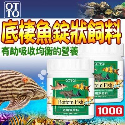 【🐱🐶培菓寵物48H出貨🐰🐹】(送購物金50元)水族用品》FF-05M底棲魚錠狀飼料-100g(M)自取不打折