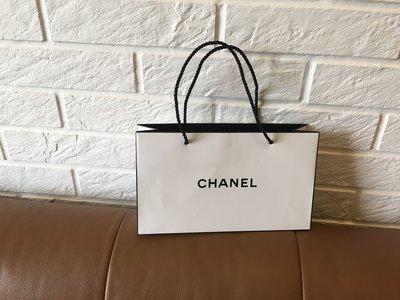 CHANEL 香奈兒 精品 名牌 中紙袋 全新 名牌紙袋