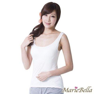MarieBella  Bra 寬版背心(白)【KS12015】JC雜貨