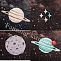 【Fanning服飾材料工坊】超可愛刺繡太空人宇宙行星星球 貼布/刺繡/布章 共9款