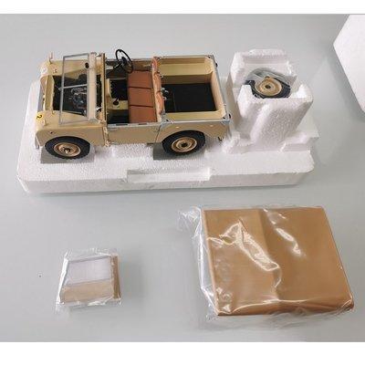 Minichamps 迷你切 1/18 路虎 衛士 越野車 英軍 北非沙漠 涂裝