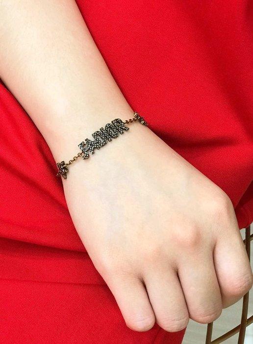 《巴黎拜金女》dior 最新做舊金屬手鍊