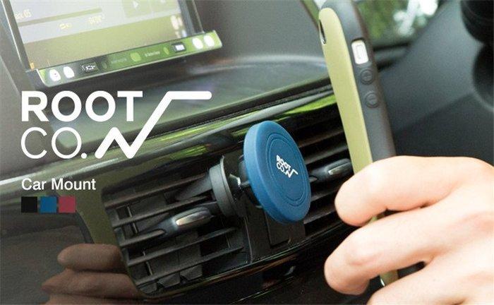 日本【ROOT CO.】PLAY Car Mount 磁吸式車用手機架 - 共3色