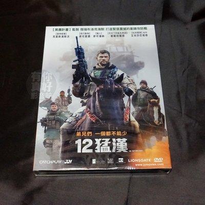全新影片《12猛漢》DVD 克里斯漢斯沃 麥可夏儂 麥可潘納 崔範坦羅德 艾兒莎巴塔奇 尼可萊弗格席