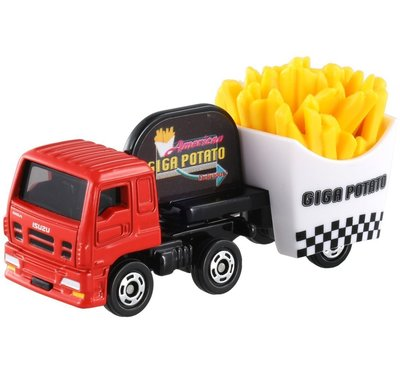 TOMICA TM055_82462薯條載運車 日本TOMY多美小汽車 永和小人國玩具店