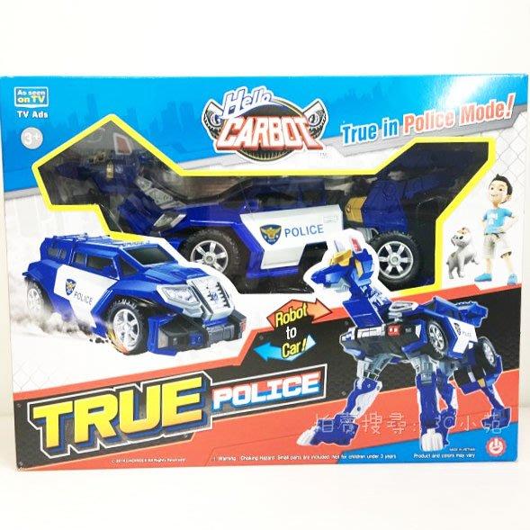 【HAHA小站】麗嬰 韓國 CARBOT 衝鋒戰士 警長戰狼 TRUE 變形 機器人 聖誕 生日 禮物 CK32252
