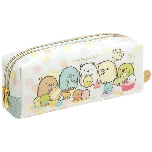 (Special Japan)  11月最新 日本限定 San-X 角落生物  雙拉鍊筆袋  筆袋 收納袋 現貨