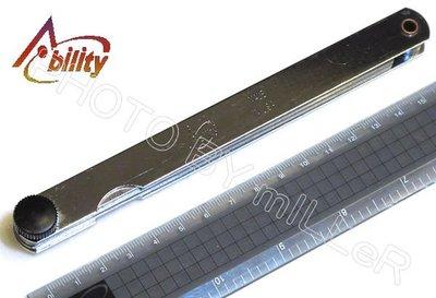 【米勒線上購物】厚薄規  間隙規 美國 Ability 長度150mm 25片入 0.03~1.00mm 美國製