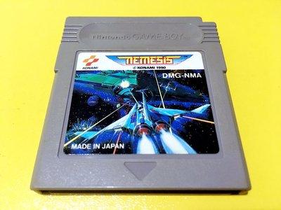 幸運小兔 GB遊戲 GB 宇宙巡航艦 宇宙巡航機 NEMESIS  GameBoy GBA、GBC 主機適用 F7