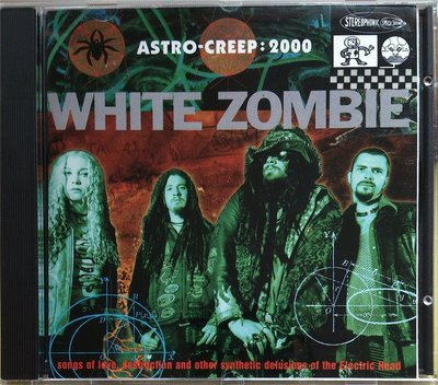 White Zombie - Astro-Creep 2000 二手亞版