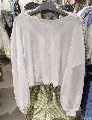 『mιS_精品』 CACHE白色短外套服女2020夏季潮新款寬松薄款百搭休閒開衫2626028123