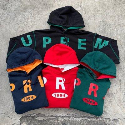 ☆LimeLight☆ 2019 S/S Supreme Spread Logo Hooded Sweatshirt