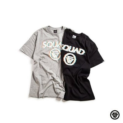 (MARVELOUS) SQUAD New LOGO Shake/Rock T-Shirt新潮LOGO晃動T-Shirt