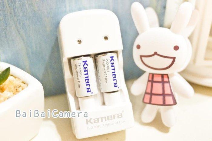 BaiBaiCamera  MINI 25 電池充電組 Kamera CR2 充電器 用mini 25 50s PIVI sp-1 印相機 另售拍立得底片