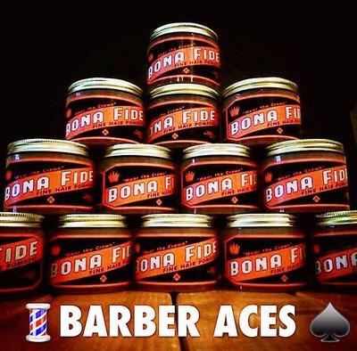 💈BARBER ACES♠️衝評價 美國 BONA FIDE  SUPERIOR HOLD 水洗式髮油 超強力中光澤 台北市