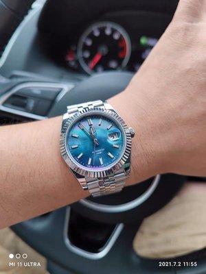 San martin 日志款datejust 貝母面 機械錶 潛水表(SW200購買處)