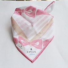 (QQ) 購自日本 日版Lanvin en bleu 蝴蝶結 頸巾 手巾 毛巾 scarf (日本製)